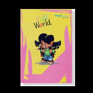 Exercise Book (Fun World  PP Cover)